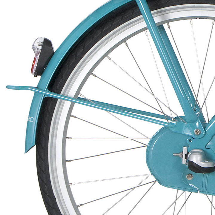 Cortina Fender Stay Rear 24 Inch - Turquoise