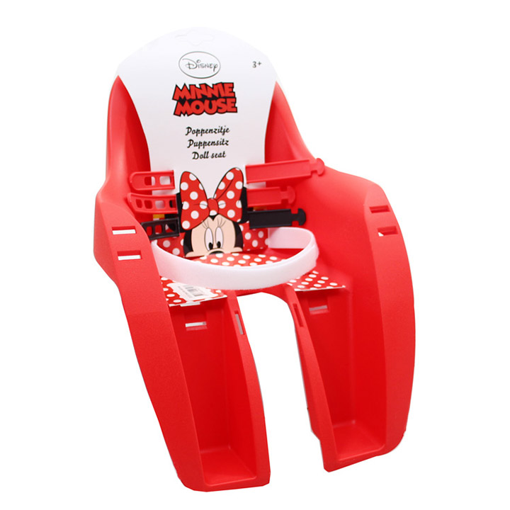 Widek Doll Seat Minnie Mouse - Red