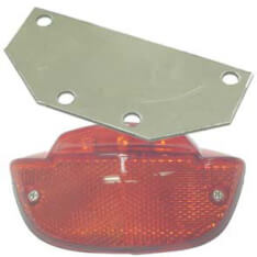 Reflector Rear Light Adaptor 80Mm (Gazelle)
