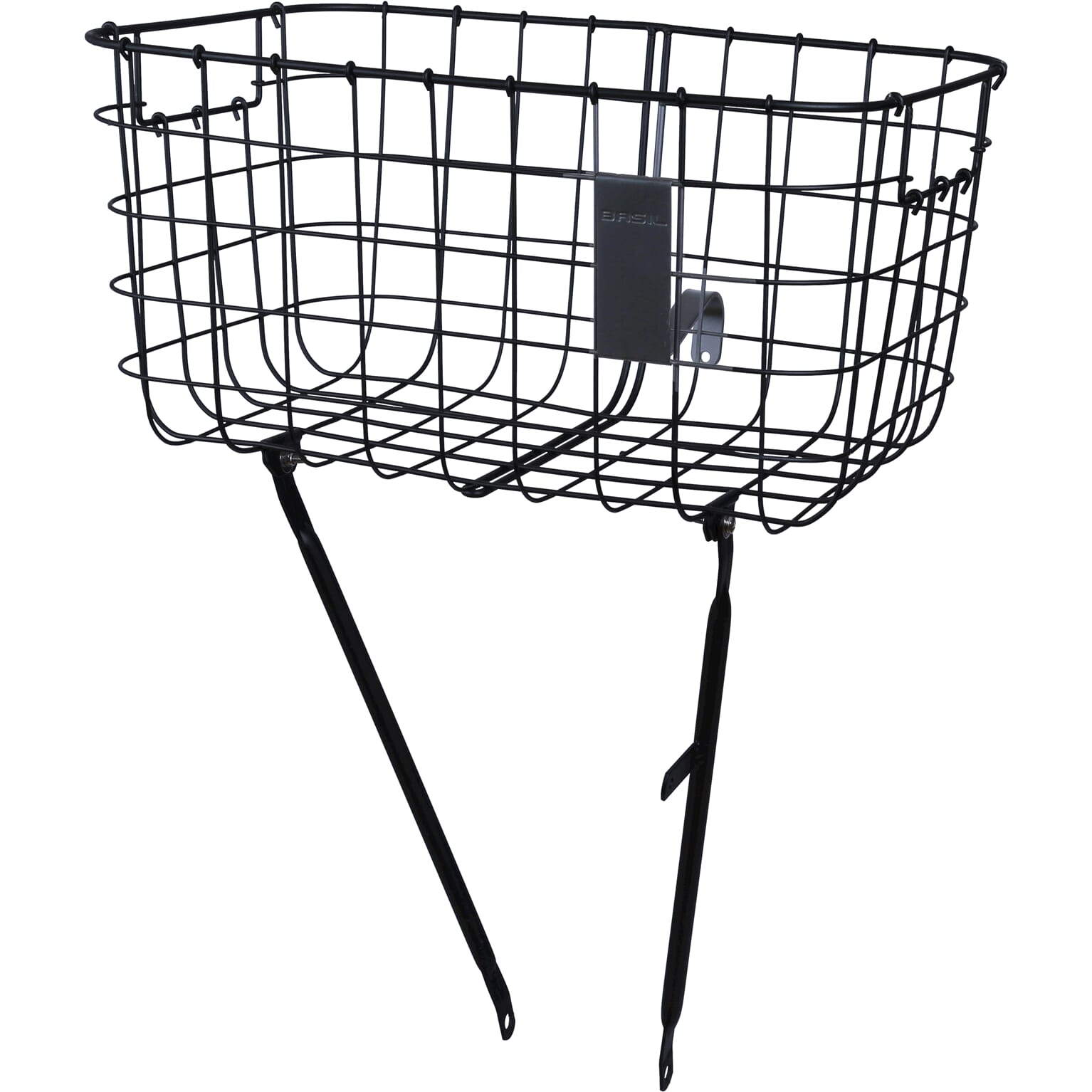 Basil Robin Bicycle Basket 26/28 Inch Fixed - Black