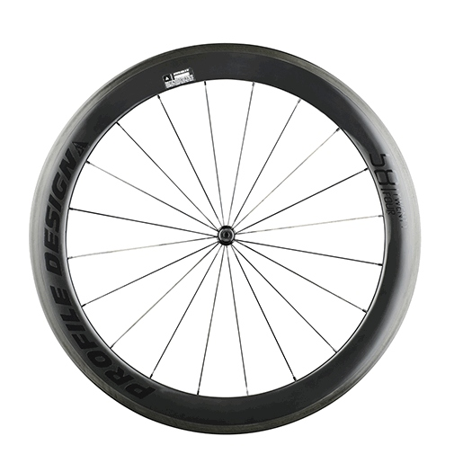 Profile Design 58/24 Rear Wheel Clincher SH 11S CB - Black