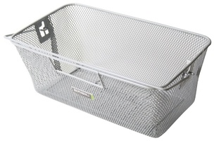 Basil Bicycle Basket Rear Concord - Silver