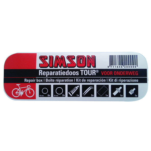 Simson Puncture Repair Box Tour