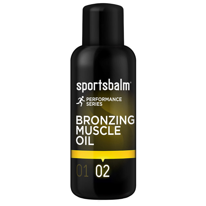 Sportsbalm Bronzing Muscle Oil - 200ml