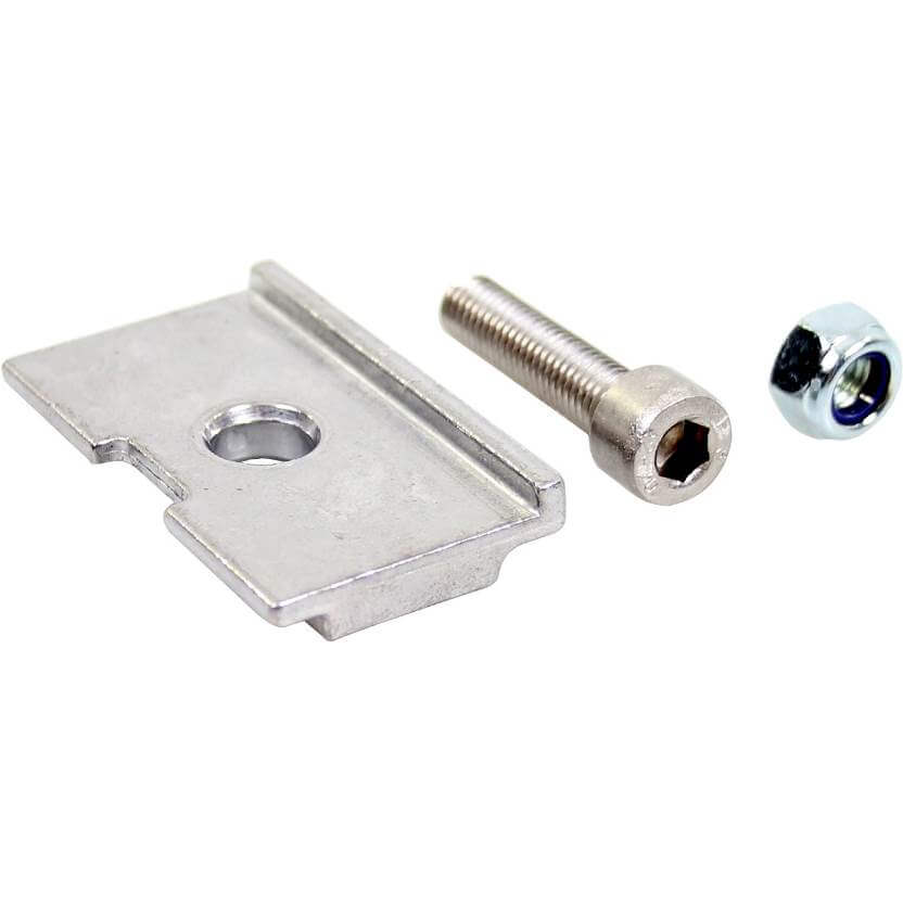Esge Adaptor Plate Wide To Narrow Silver