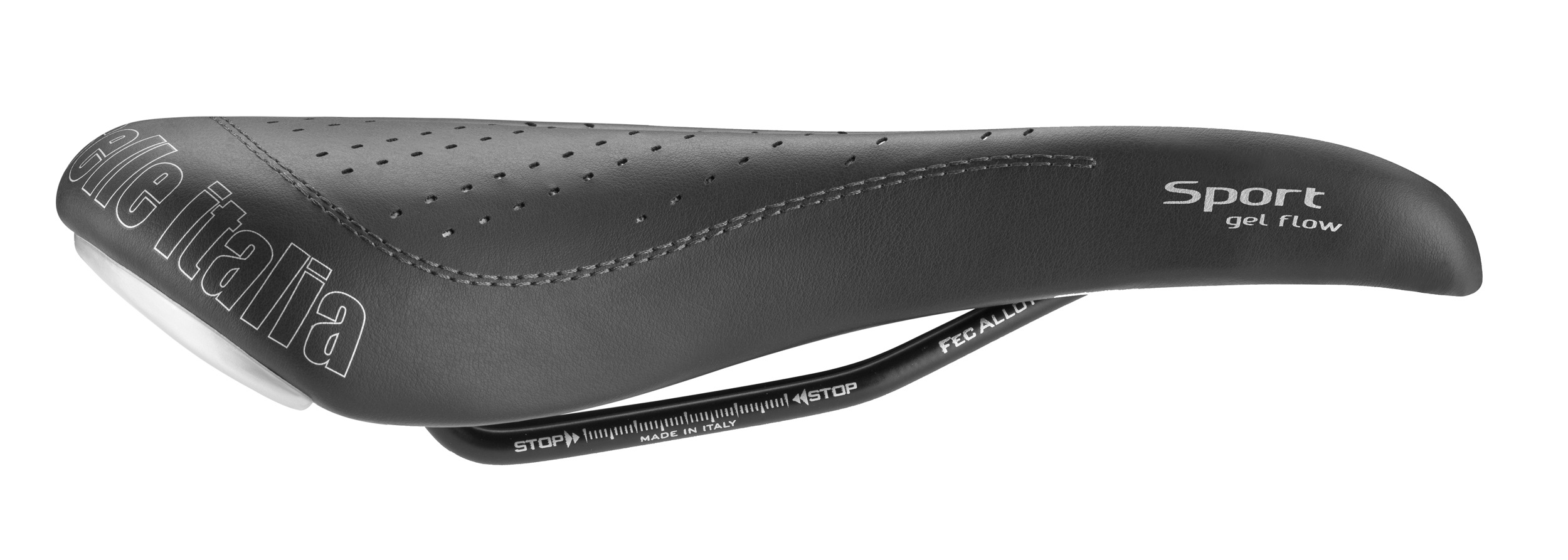 Selle Italia Sports Gel Flow Bicycle Saddle 270x140mm Bl