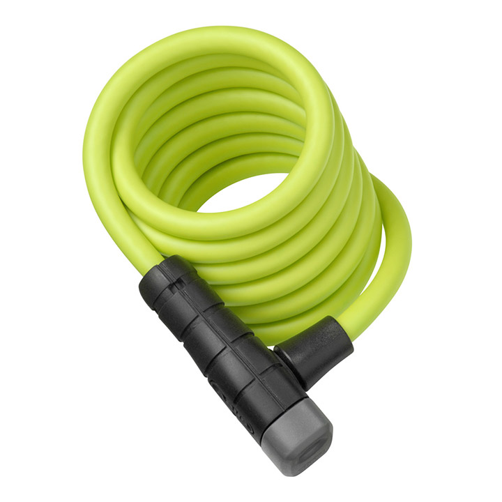 Abus Primo 5510K Cable Lock 180 cm - Lime