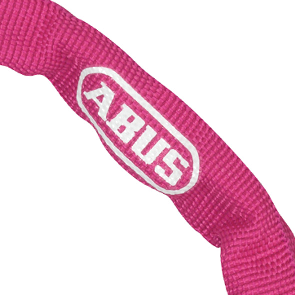 Abus Chain Lock 1500 Pink  60cm - 4mm Links