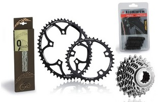 Miche Cassette/Chainrings Set 13-26T 52/36T 9S Shimano