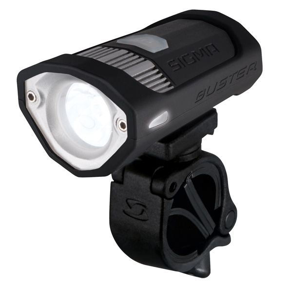 Sigma Headlight Buster 200 LED USB Rechargeable - Black