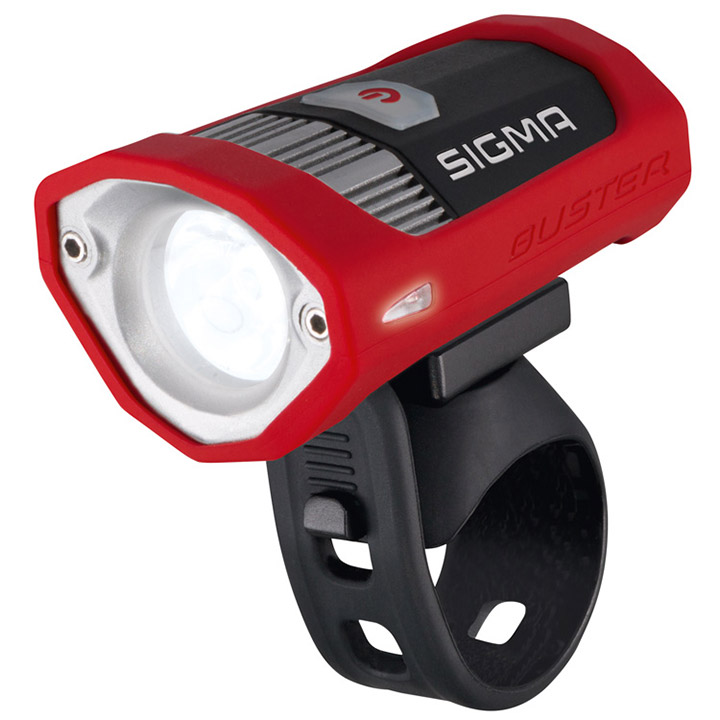 Sigma Headlight Buster 200 USB Battery - Black/Red