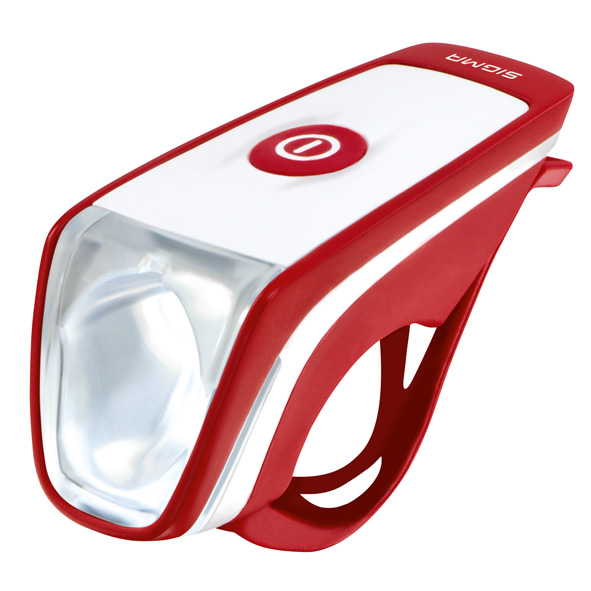 Sigma Headlight Siggi Led Usb Red/White Batteries