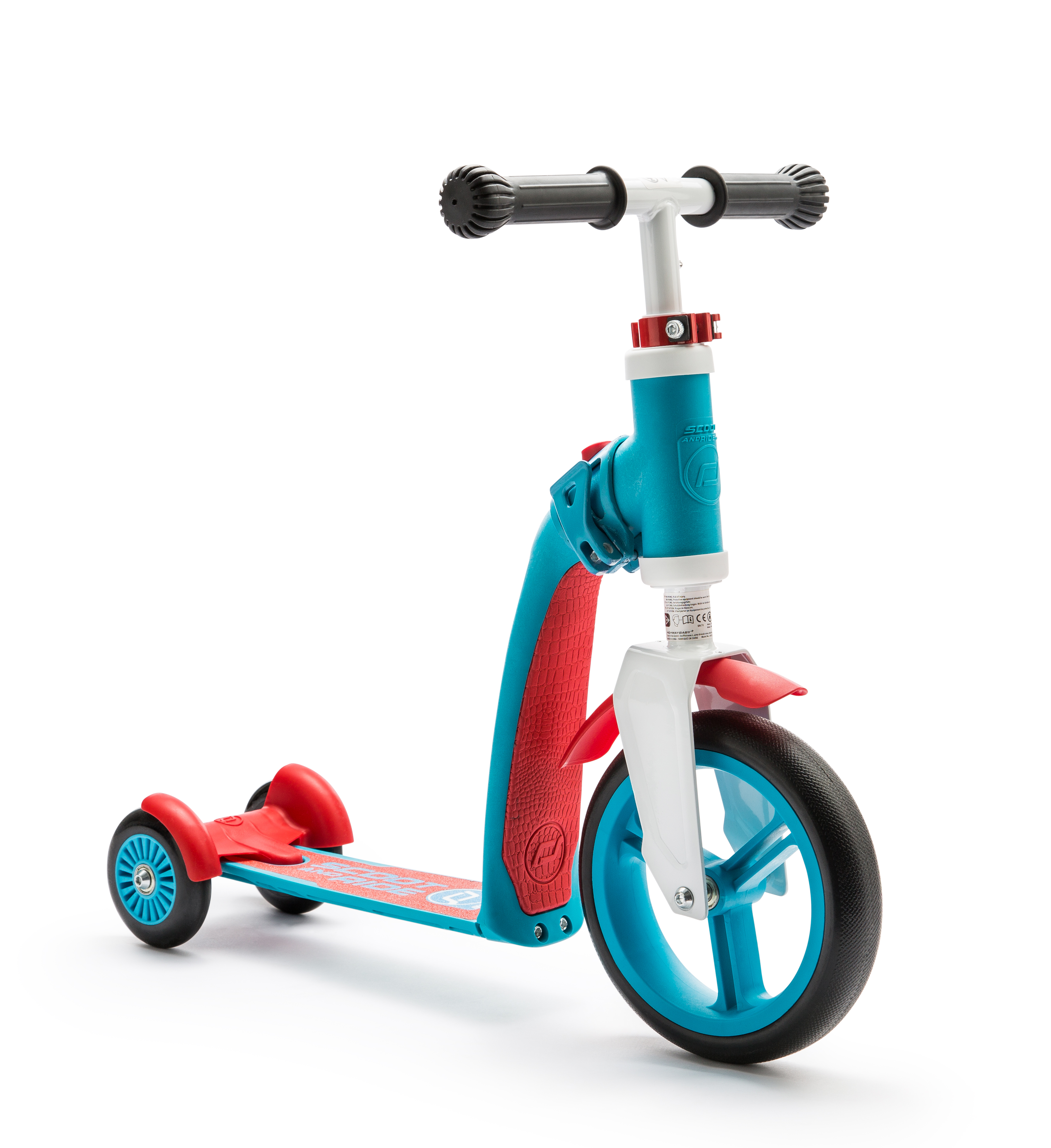 Scooter and Ride Highway Baby Plus - Blue/Red