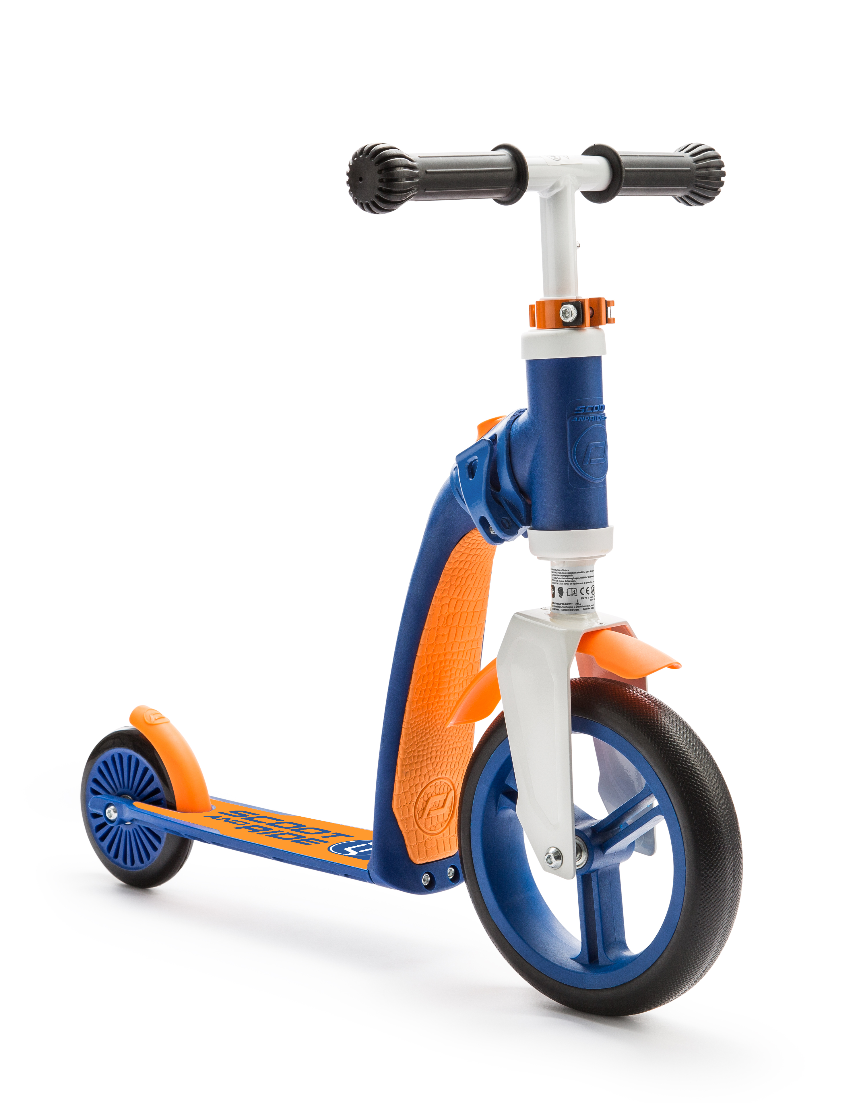 Scooter and Ride Highway Baby - Blue/Orange