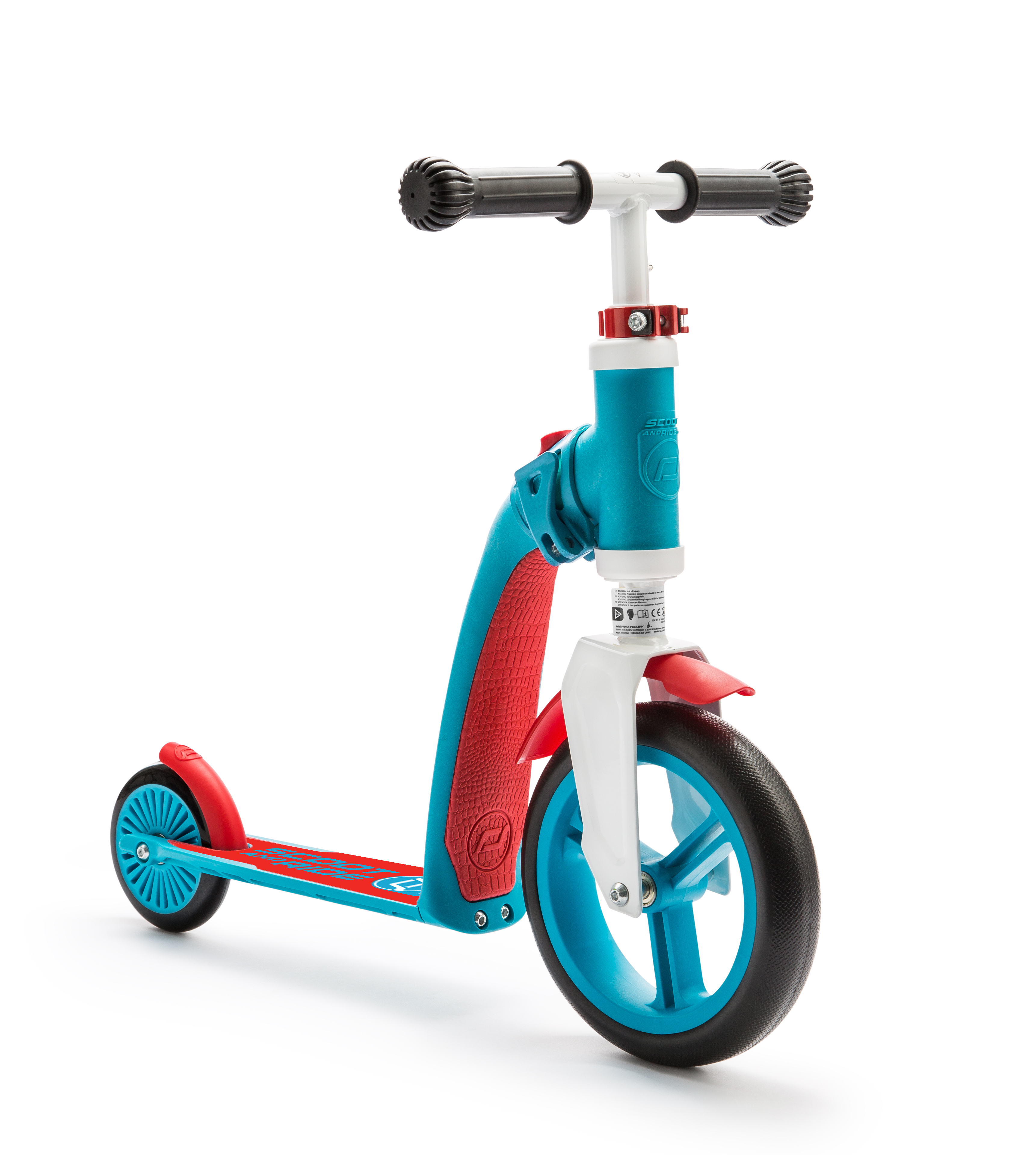 Scooter and Ride Highway Baby - Blue/Red