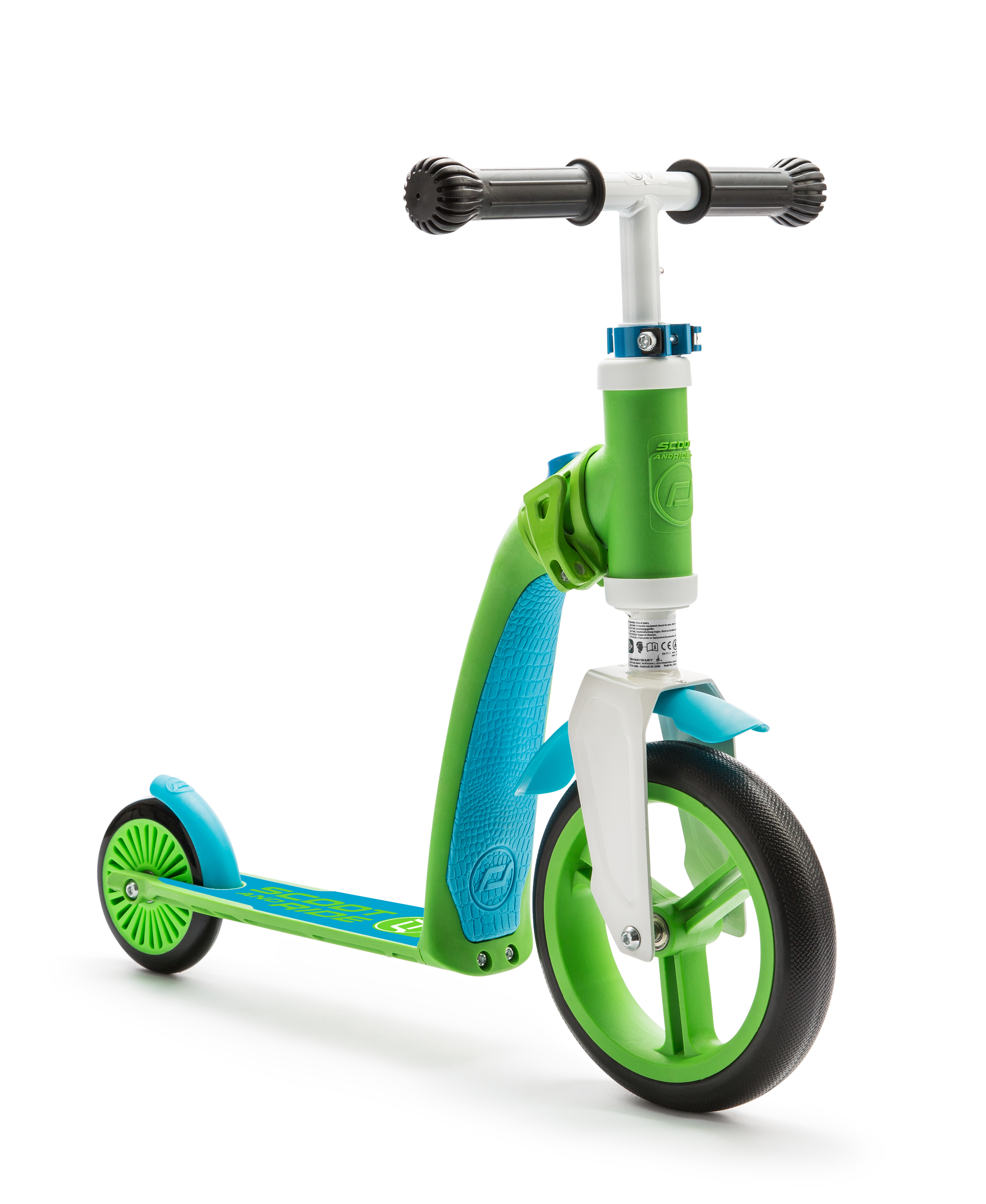Scooter and Ride Highway Baby - Green/Blue