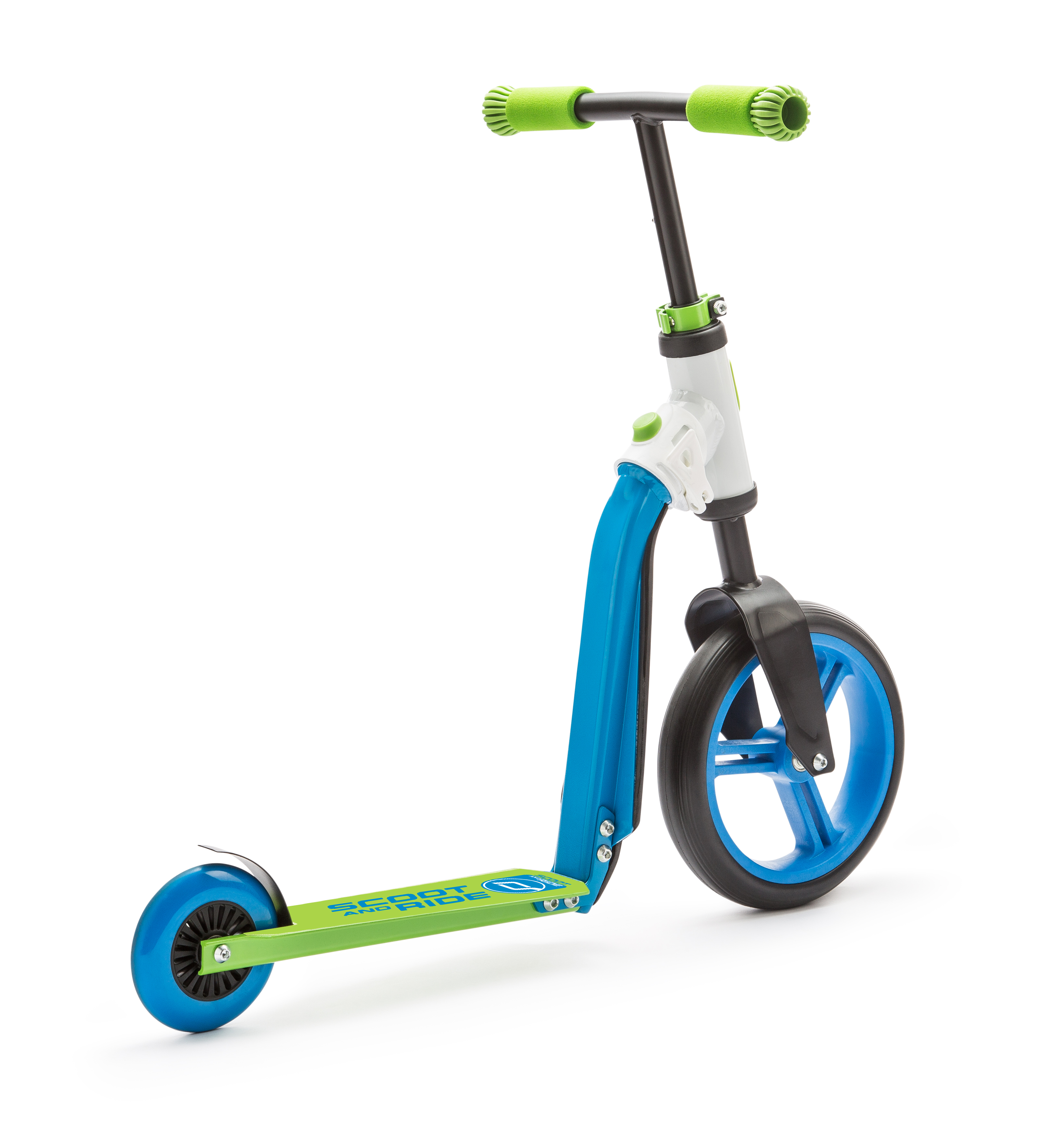 Scooter and Ride Highway Buddy - Blue/Green