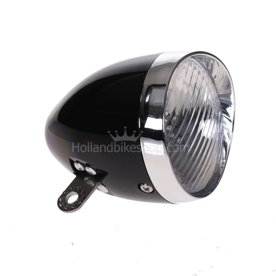 Starry Bicycle Headlight Black 5 LED Battery