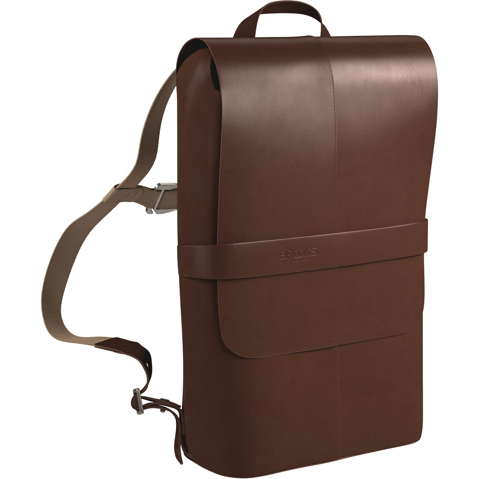 Brooks Backpack Picadilly Leather Antique Brown