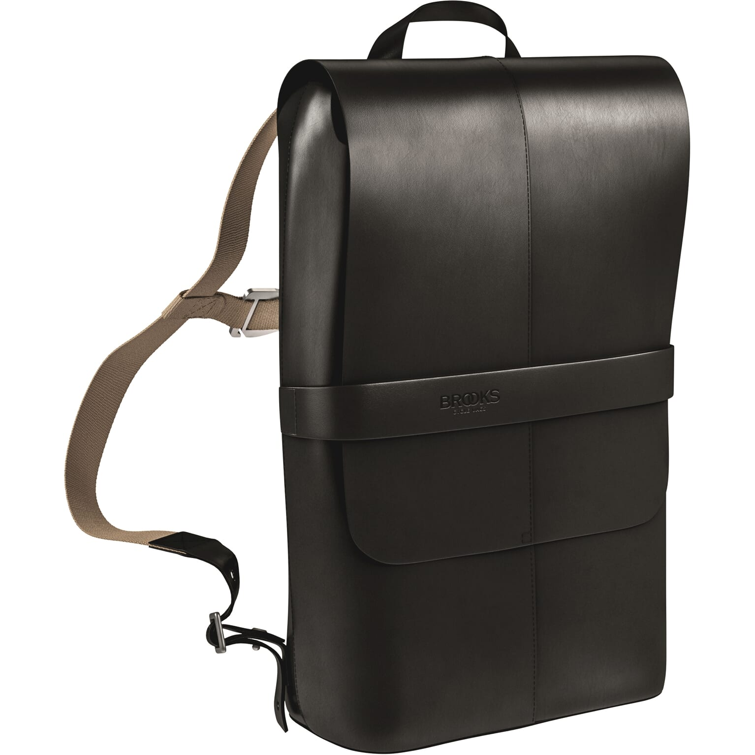 Brooks Bicycle Backpack Picadilly Leather Black