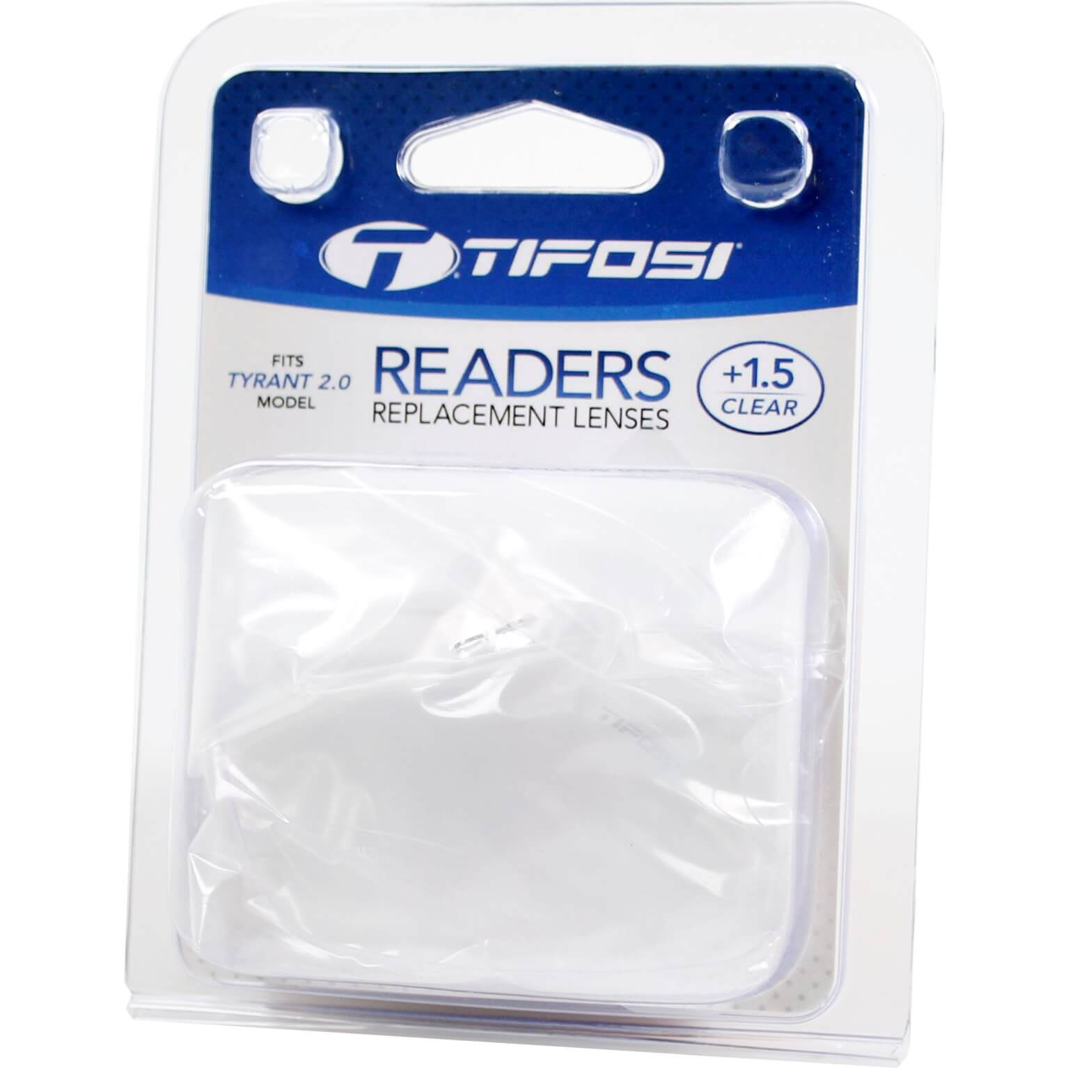 Tifosi Lens Reader Transparent +1.5 For Tyrant