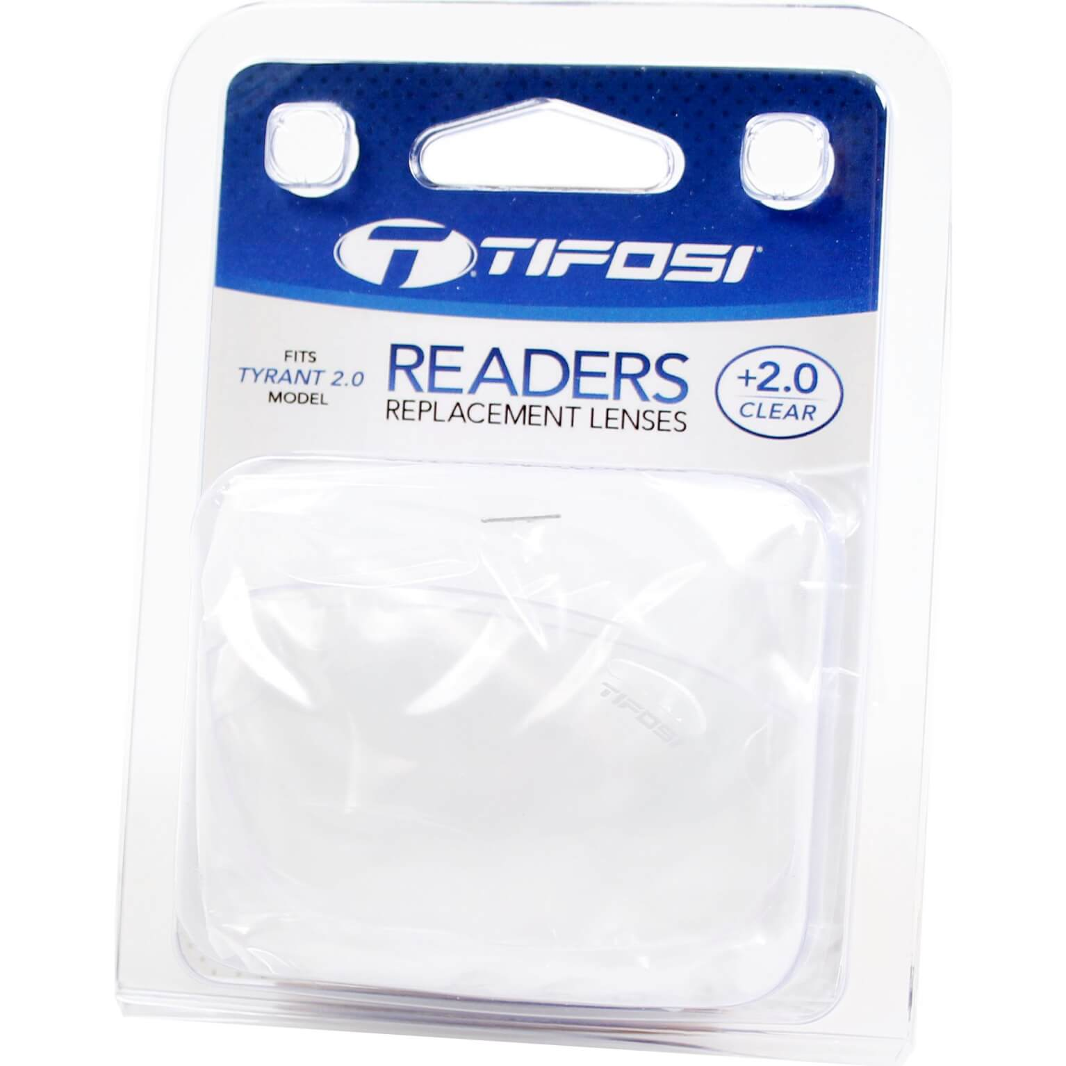 Tifosi Lens Reader Transparent +2.0 For Tyrant