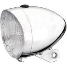 Marwi Front Light Retro Battery Chrome