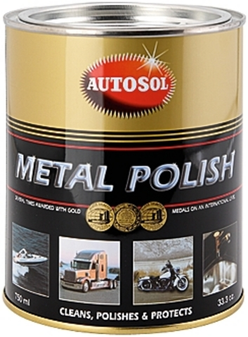 Autosol Chrome Polish Paste - Can 750ml