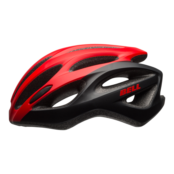 Bell Draft MIPS Cycling Helmet - Red/Black Unisize 54-61cm
