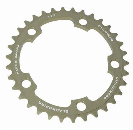 Blackspire Chainring Cyclocross 34T BCD 110 Grey