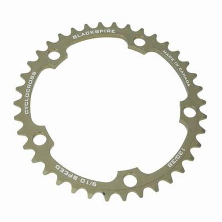 Blackspire Chainring Cyclocross 38T BCD 130 Grey