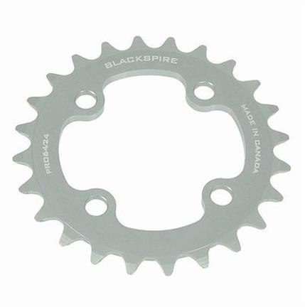 Blackspire Chainring Pro 24T BCD 64 7/8S Gray