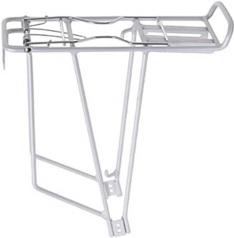 Bor Yueh Luggage Carrier 24-28 with Spring Clamp Matt Silver