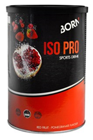 Born ISO Pro Sport Drink Pro Red Fruit/Pome Granate - 400g