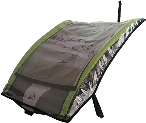 Bx-Trailers Rain Cover Transparent for Bicycle Childrens Ca
