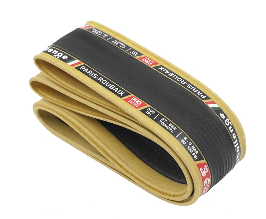 Challenge Paris-Roubaix Tubeless 27-622 Foldable - Bl/Brown