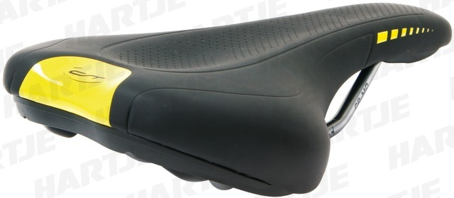 Contec Neo Sport Z Fit Bicycle Saddle - Black/Green