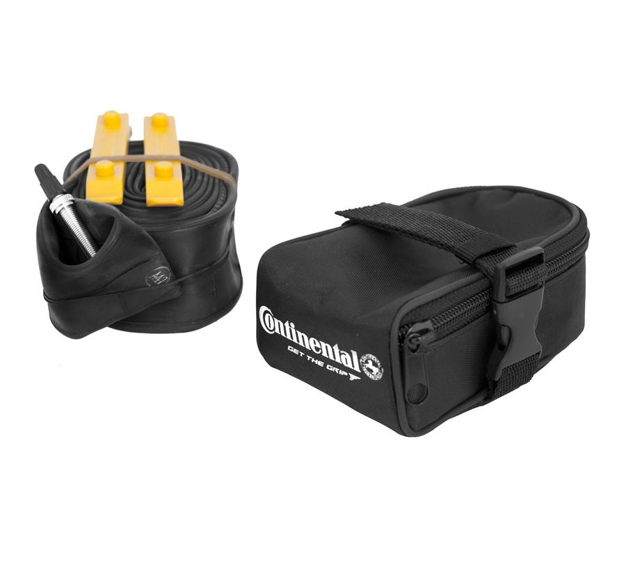 Continental Saddle Bag + 27.5 Inch Inner Tire + 2 Tire Lever