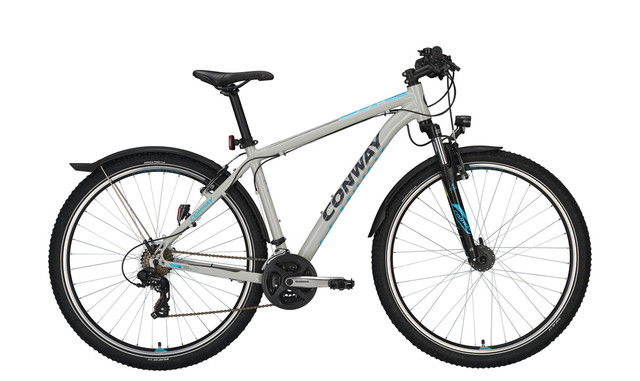 Conway MC 229 Men 29er 44cm 21S - Gray/Blue