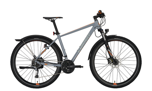 Conway MC 529 Men 29er 44cm 27S - Gray/Orange