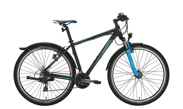 Conway MTB MC 329 29 Inch 44cm 21S - Matt Black/Blue