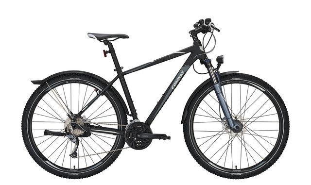 Conway MTB MC 529 29 Inch 44cm 27V - Matt Black/Gray