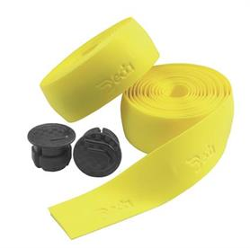 Deda Handlebar Tape with Bar End Caps - Yellow