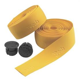Deda Handlebar Tape with Bar End Caps - Yellow Ocher