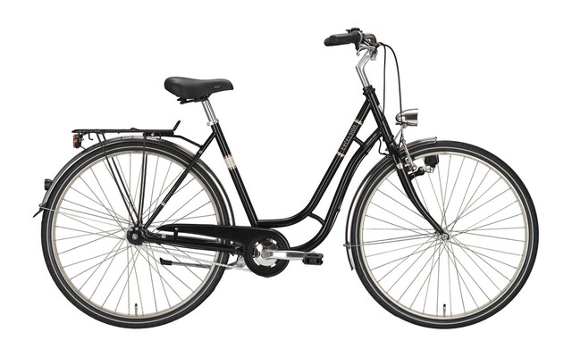 Excelsior Touring Niro Womens Bicycle 28 Inch 55cm 3V Blac