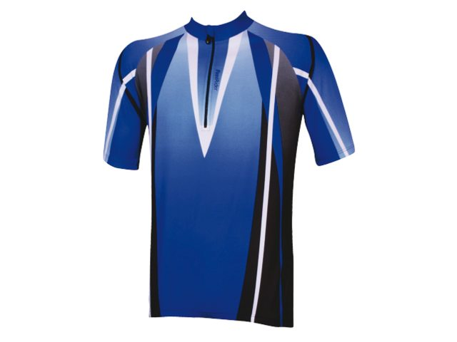 FastRider Cycling Jersey Ss Blue - Size XXL