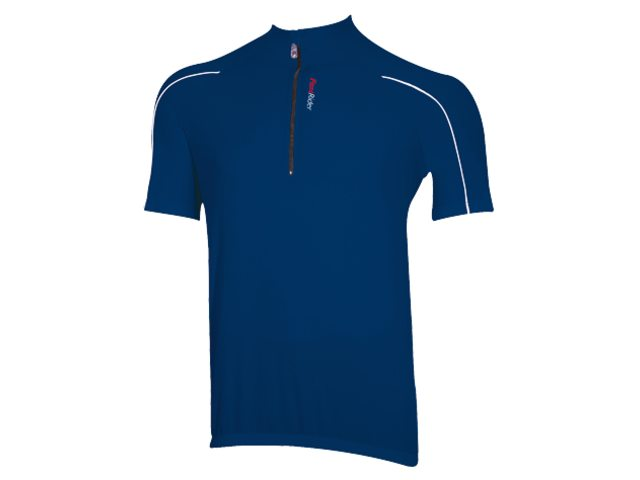 FastRider Cycling Jersey Short Sleeves Strong Blue Size XXL