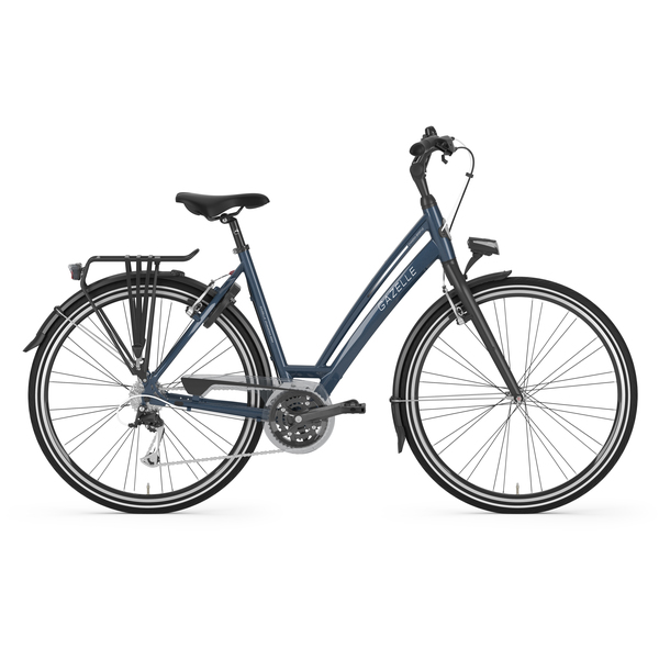 Gazelle Chamonix S24 Womens Bike 57cm 24S - Matt Blue