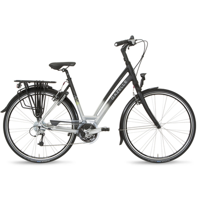 Gazelle Ladies Bike Chamonix T27 49cm 27V Silver/Black