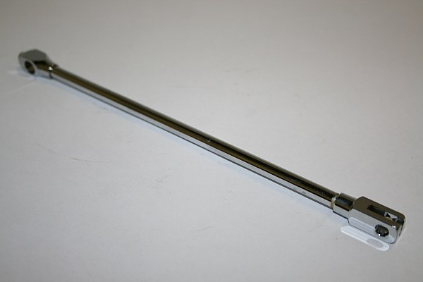 Gazelle Brake Rod 200mm - Brass / Chrome